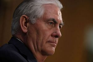 US President-elect Donald Trump's nominee for secretary of state Rex Tillerson said China's building of islands and putting military assets on those islands was