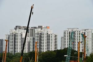 Singapore Contractors Association has asked for some public sector projects to be brought forward to tide over the decline in private sector demand.