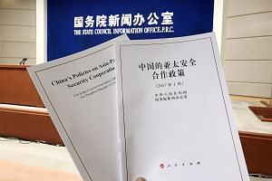 China's first White Paper on regional security cooperation, titled China's Policies On Asia-Pacific Security Cooperation, sets out its vision for keeping peace in the region via dialogue and cooperation. The paper shows China's willingness to be more