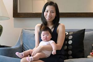 In May last year, while 17 weeks pregnant, Ms Jen Wang was battling colon cancer, and worried for her and her baby's life.