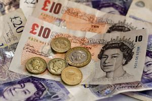 The pound climbed against the US dollar as Prime Minister Theresa May said UK lawmakers will get a vote on the final deal for an exit from the trading bloc.
