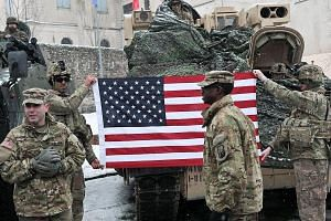A welcome event in Poland last Saturday for US troops arriving in Poland as part of a deployment to boost ties with Nato allies. If politicians whip up a fear of being left defenceless, Europe may even be able to overcome the key problem with deeper