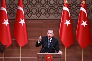 Turkish President Tayyip Erdogan said that he would act rapidly on a constitutional Bill boosting his powers that was passed by parliament last week.