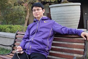 Mr Xiao pictured in Beijing in an undated picture. The billionaire financier said on his company's WeChat account that he was