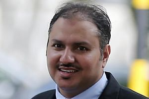 Bander Yahya A. Alzahrani, 39, was convicted on Wednesday (Feb 1) of wrongfully restraining a young intern while molesting her twice and of using criminal force on her.