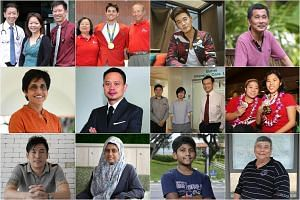 Finalists of The Straits Times Singaporean of the Year 2016.