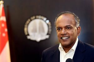 Home Affairs and Law Minister K. Shanmugam thanked Home Team national servicemen for their contributions to the peace, stability and progress that Singapore enjoys today.