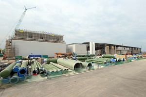 Tuas Desalination Plant 3 is expected to be ready later this year.