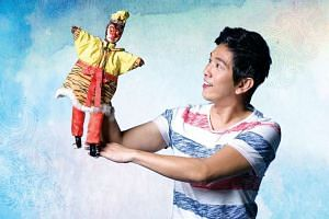 Singer-actor Sugie Phua in The Theatre Practice's restaging of Lao Jiu: The Musical.