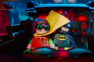 Batmanlearns to work with others, including Robin, to defeat a band of villains in Gotham City.