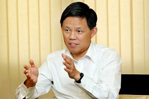 Mr Chan Chun Sing, Minister for Social and Family Development.