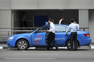 ComfortDelGro controls more than 16,800 taxis, or 61 per cent of the market.