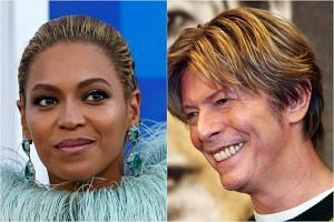 Beyonce won the best music video Grammy for her politically charged single Formation. David Bowie, who died in January 2016, won the Grammys for recording package and non-classical engineering for his final album Blackstar.