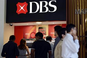 Singapore's biggest bank DBS Group Holdings reported a 9 per cent per cent fall in net profit for its fourth quarter.