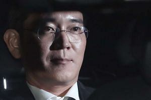 Lee Jae Yong was arrested on Feb 17, 2017 for his alleged role in a corruption scandal involving President Park Geun Hye.