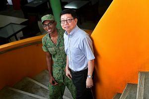 Physics Teacher Ong Wee Hong with Mr R. Ramana