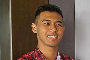 NUS student Luqman B. Lukman.