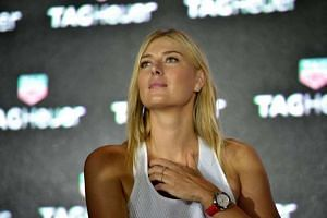 Sharapova (above, in 2015) will meet French Tennis Federation chief Bernard Giudicelli to plead her case.