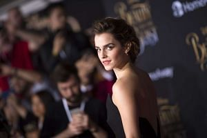 Actress Emma Watson attends the world premiere of Disney's Beauty And The Beast in Hollywood, March 2, 2017.