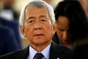 A 15-member Commission on Appointments has rejected Mr Perfecto Yasay's (pictured) appointment as foreign secretary.