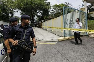 Malaysia has barred North Korean officials from leaving the embassy in Kuala Lumpur.