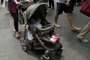 Currently, commuters travelling with young children are required to fold up their strollers before boarding public buses.