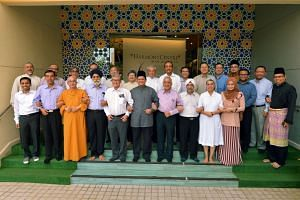 Leaders from various religious organisations gathered at an Interfaith Tea Reception in celebration of Hari Raya Aidilfitri 2016.