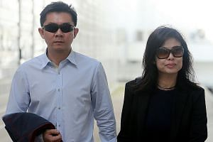 Husband Tay Wee Kiat faced 12 charges involving the couple's two maids, while Chia Yun Ling was convicted of hitting one of them.