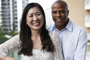 Ms Chenise Lim and her South African husband Karl Christians hope to retire in Cape Town, where they own several properties. To ensure a stable income flow then, she has invested in a diversified portfolio and various insurance plans.