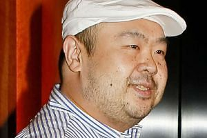 File picture taken on June 4, 2010 of Kim Jong-Nam attending an interview with South Korean media representatives in Macau.