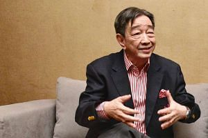 Teo Hock Seng (above) will be Team LKT's V-P nominee while Annabel Pennefather has been put forth as Game Changers' V-P candidate for the FAS election.