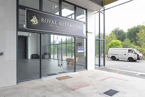 Royal Automotive's showroom in Woodlands Close.