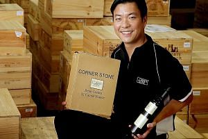 Mr Ang believes his firm's name change from Hock Tong Bee to CornerStone Wines helped to open doors for its regional expansion.