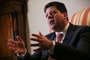 Gibraltar's Chief Minister Fabian Picardo at Gibraltar House in central London, Jan 25, 2017.