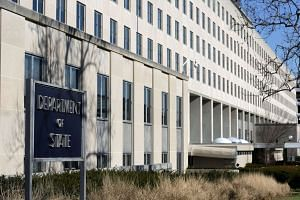 The State Department Building is pictured in Washington.