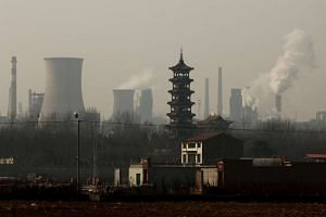 An industrial zone in Wu'an in the Hebei province. With Hebei's new Xiongan New Area, China is hoping to mimic the rapid growth seen following the one in Shenzhen in 1980.