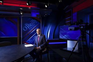 Bill O'Reilly at his studio at Fox News in New York, Dec 18, 2012.