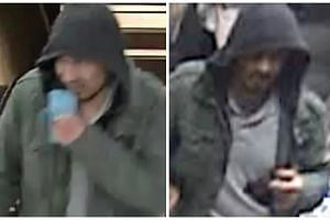 Police released images of a man they wanted to find.