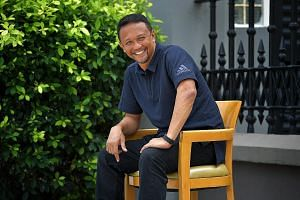 """Fandi Ahmad says footballers now seem to have """"lost a lot of creativity"""", putting it down to how, in the past, many children would be fighting for one football or basketball, whether in school, the kampungs or HDB void decks. He believes that if play"""