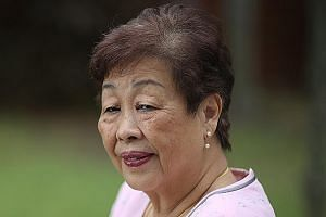 Madam Fu Chuan San, who helped with NS registration in the early 1970s, believes NS is important to keep Singapore secure.