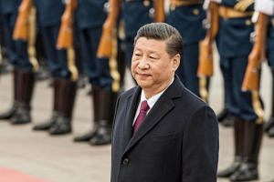 Chinese President Xi Jinping called for a peaceful resolution to the crisis on the Korean Peninsula.