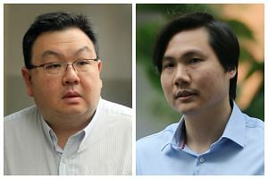 Dentists Steven Ang Kiam Hau (left) and Daniel Liew Yaoxiang (right) are accused of 283 and 280 charges respectively.