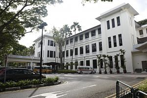 The National University Health System will take over the 79-year-old Alexandra Hospital when its current occupants Sengkang Health move into Sengkang General Hospital next year.