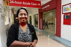 Dr Annitha Annathurai said that patients at Alexandra's acute care clinic typically get to consult a doctor within 30 minutes.