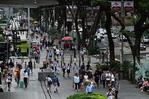 The Singapore Tourism Board has announced plans to spruce up Orchard Road to make it more friendly for pedestrians, including the possible reclaiming of the right most road lane to expand the sidewalk.