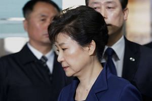 Ousted president Park Geun Hye was also charged with abuse of power and coercion by pressuring big businesses to contribute funds to non-profit foundations.