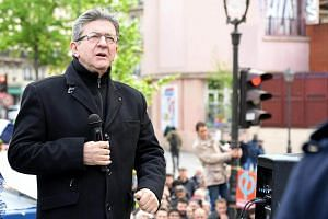 Jean-Luc Melenchon has surged from behind in the final stages of the campaign to become a serious contender.
