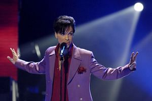 Singer Prince performs on the American Idol TV show finale on May 24, 2006.
