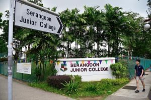 Serangoon JC is one of 28 schools merging in 2019. MOE expects the proportion of students entering JCs to hold steady.