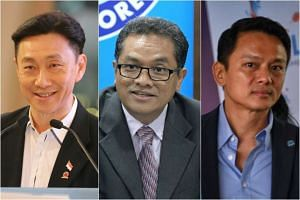 Bill Ng, Zainudin Nordin and Winston Lee.